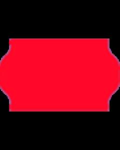 Meto Etiketten, 32x19 mm, fluor-rot, permanent