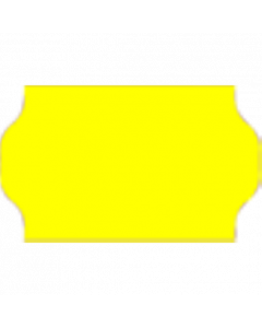 Meto Etiketten, 32x19 mm, fluor-gelb, permanent