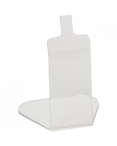 Acrylaufsteller 8 cm für PromoSign-, PromoLabel-, PromoLabelaqua Kassetten