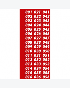 Nummernsortiment 1-499
