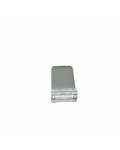 Support plat petit, transparent