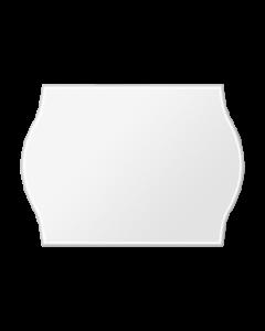 Etiquettes Arrow, 22x12 mm, blanches, permanent