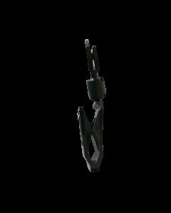 Multiclip petit avec support à cartes, noir