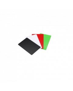 PVC Karten schwarz glanz, 0.76 mm, CR80 85.6x54 mm