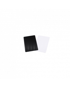 Cartes PVC noires brillantes, 0.5 mm, CR80 85.6x54 mm