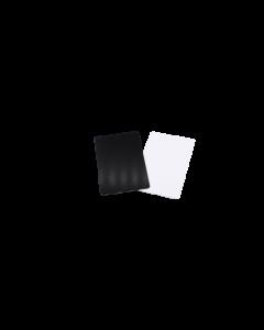 Cartes PVC noires mattes, 0.5 mm, CR80 85.6x54 mm