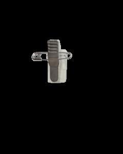 Kroko-Clip mit Nadel, chrom