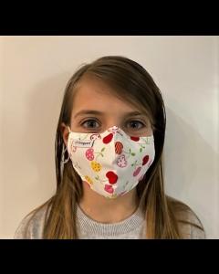 Livinguard Kids Street Mask, Kindermaske, white cherry