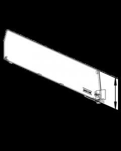 Séparateur D060, avec fixation avant, longueur 555 mm