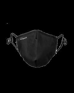 Schutzmaske Livinguard pro Mask, L, schwarz