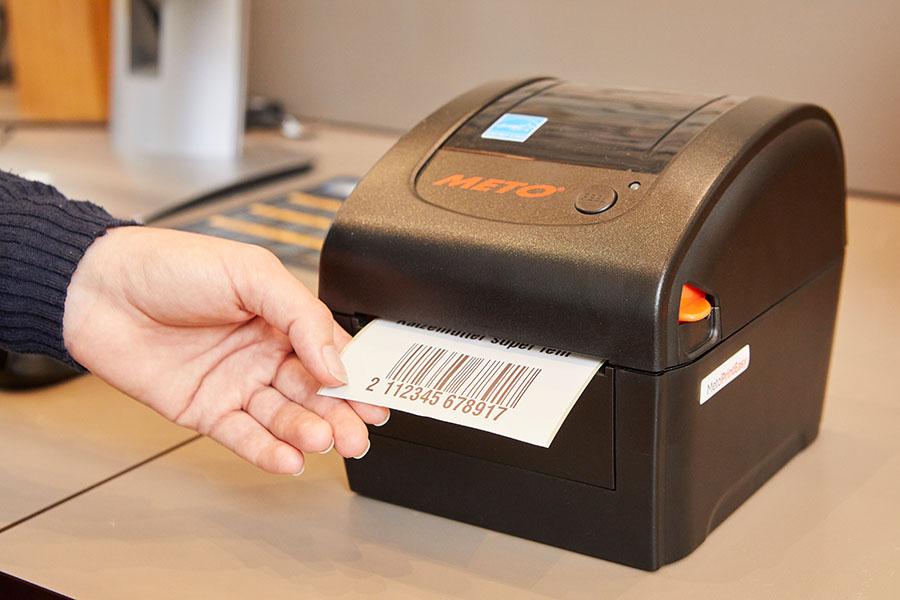 Barcode-Etikettendrucker