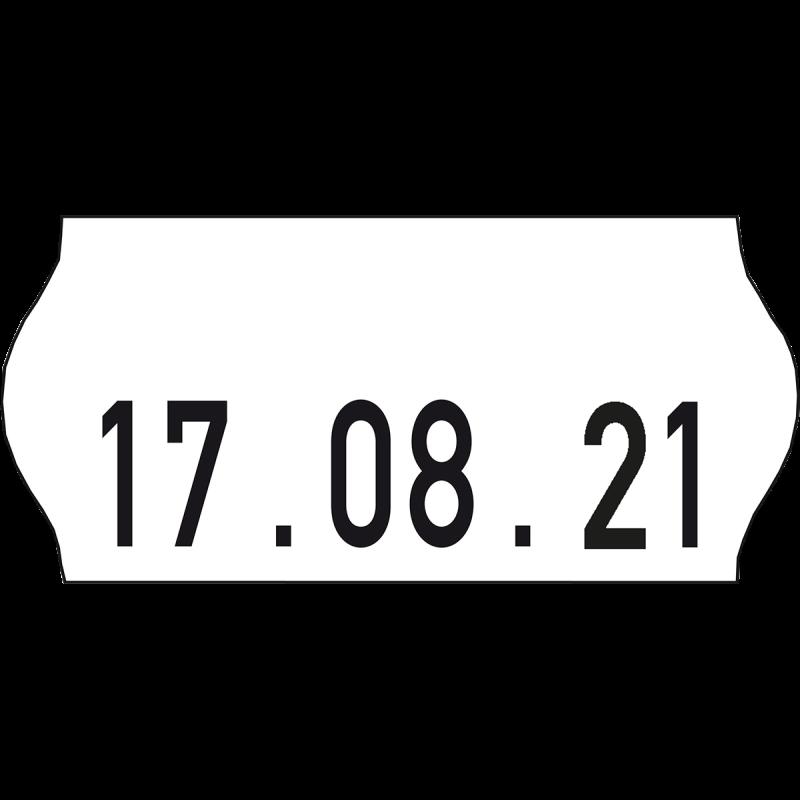 Datiergerät-Etiketten-Datum