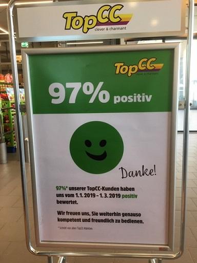 TopCC misst Kundenzufriedenheit