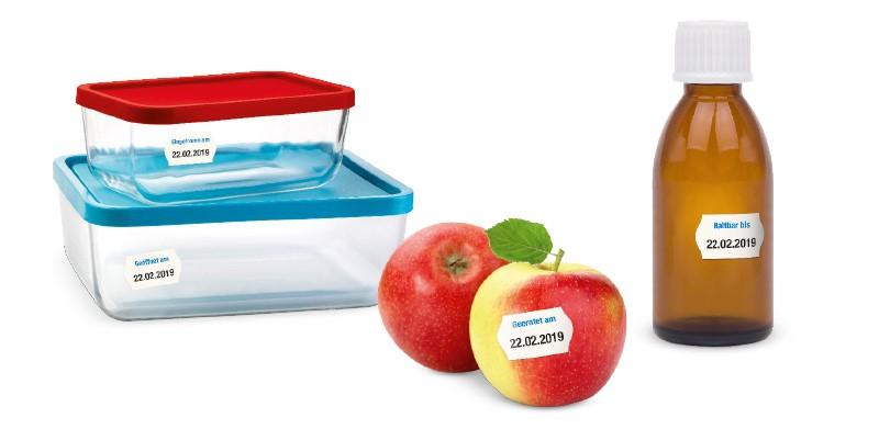 Wasserlösliche Etiketten