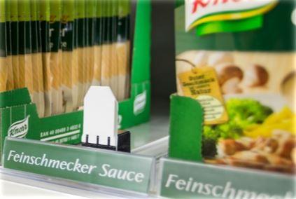 Vorschub für Saucenverpackungen
